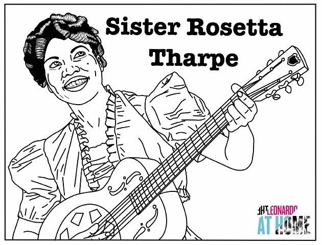 sister-rosetta-tharpe-coloring-preview